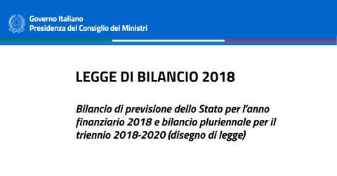 Finanziaria 2018